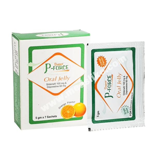 Super P Force Jelly (Sildenafil/Dapoxetine)