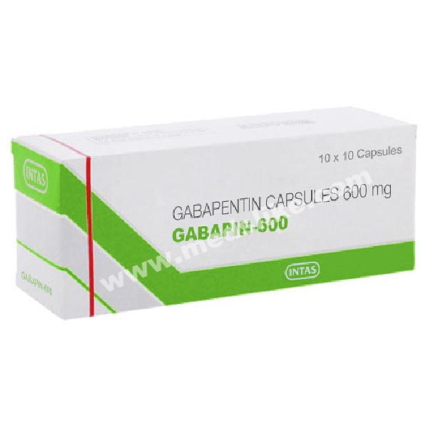 Gabapin 600mg Tablet (Gabapentin)
