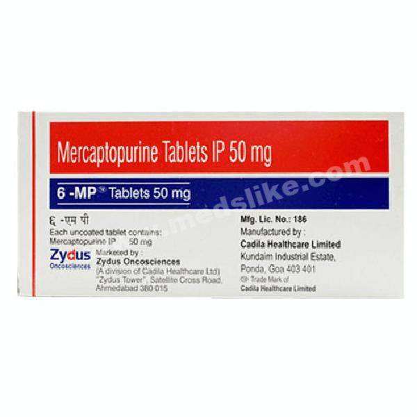 6-MP 50 (Mercaptopurine)