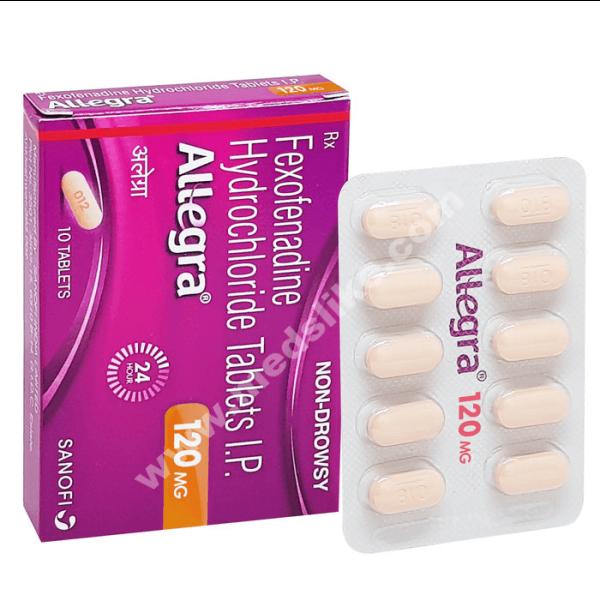 Allegra 120 mg (Fexofenadine)