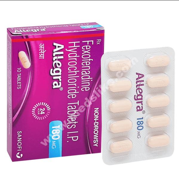 Allegra 180 mg (Fexofenadine)