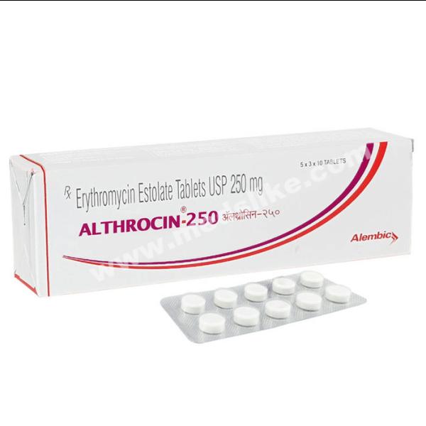 Althrocin 250 mg (Erythromycin)