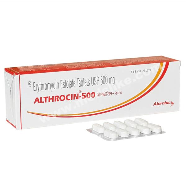 Althrocin 500 mg (Erythromycin)
