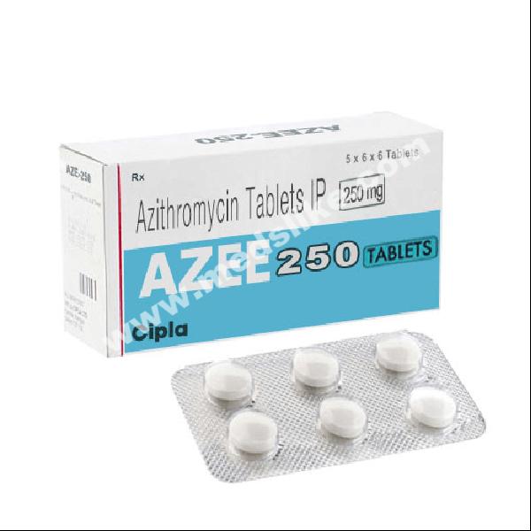 Azicip 250 mg (Azithromycin)