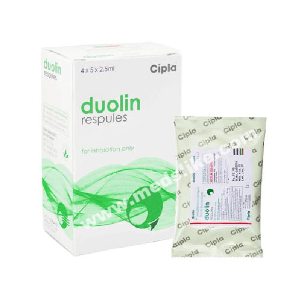 Duolin Respules (Levosalbutamol/Ipratropium)
