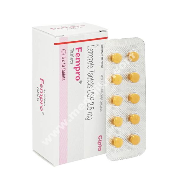 Fempro 2.5 mg (Letrozole)