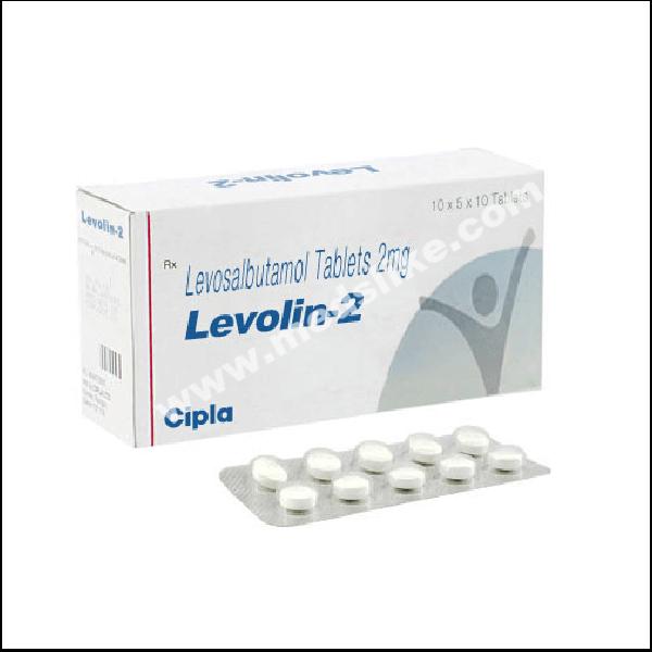 Levolin 2 mg (Levosalbutamol)