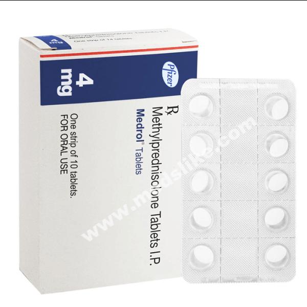 Medrol 4 mg (Methylprednisolone)