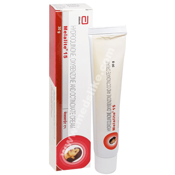 Melalite 15 Cream (Hydroquinone/Octinoxate/Oxybenzone)