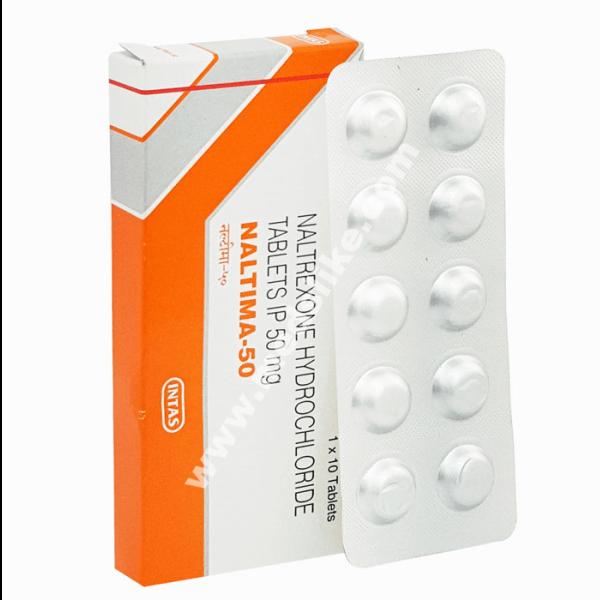 Naltima 50 mg (Naltrexone 50 mg)