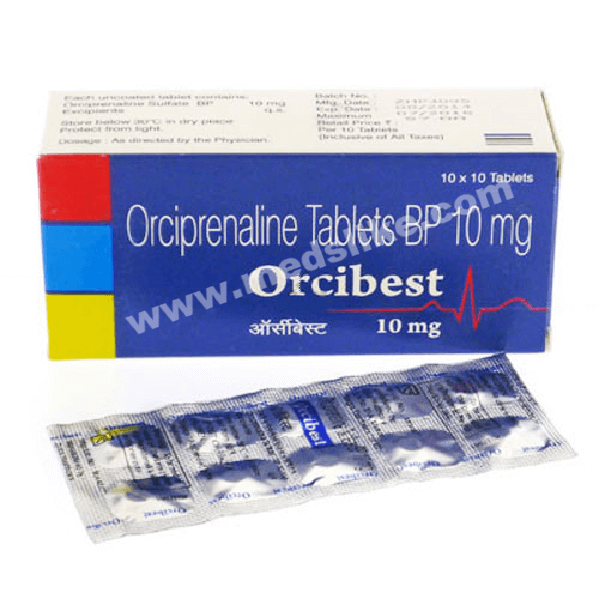 Orcibest 10 mg (Orciprenaline)