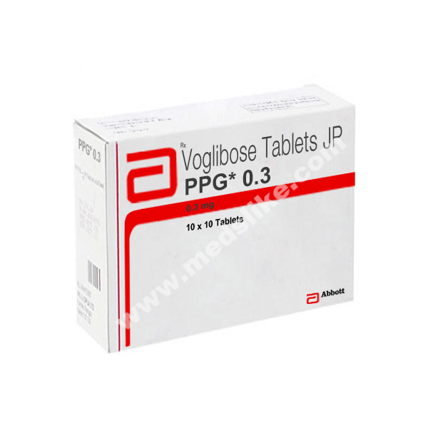 PPG 0.3 mg (Voglibose)