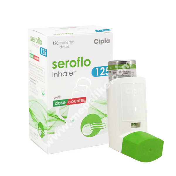 Seroflo Inhaler 125 (Salmeterol/Fluticasone)