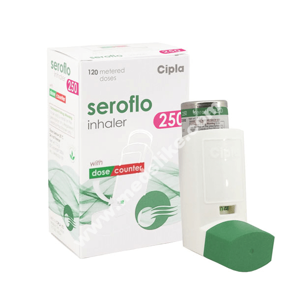 Seroflo Inhaler 250 (Salmeterol/Fluticasone)