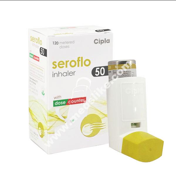Seroflo Inhaler 50 (Salmeterol/Fluticasone)