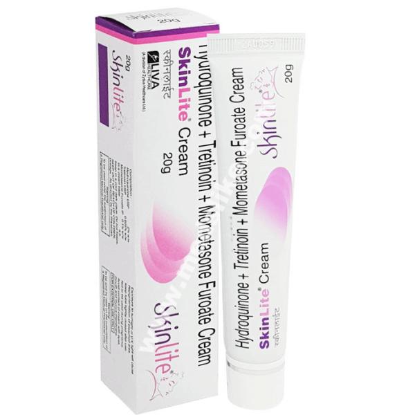 Skinlite Cream (Hydroquinone/Tretinoin/Mometasone)