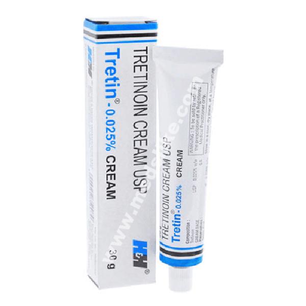 Tretin Cream 0.025% (Tretinoin)