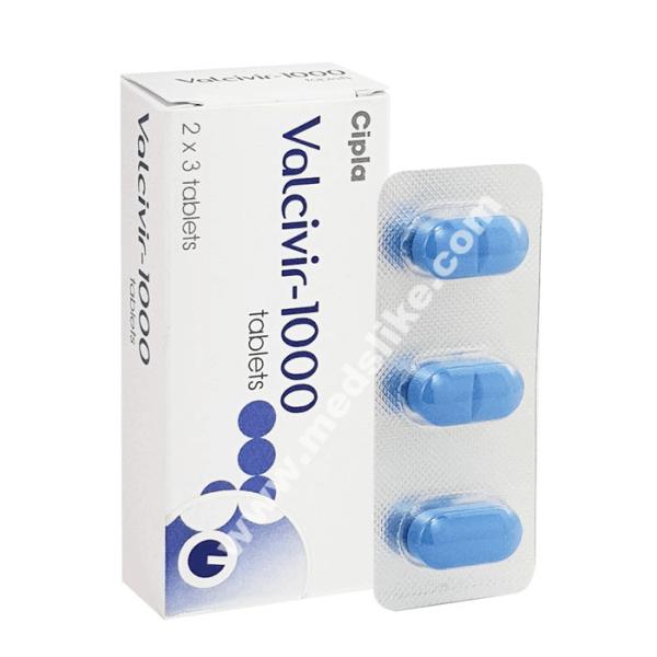 Valcivir 1000 mg
