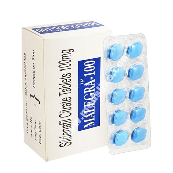Malegra 100 mg (Sildenafil citrate)