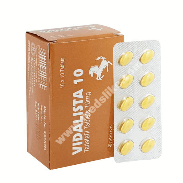 Vidalista 10 mg (Tadalafil)