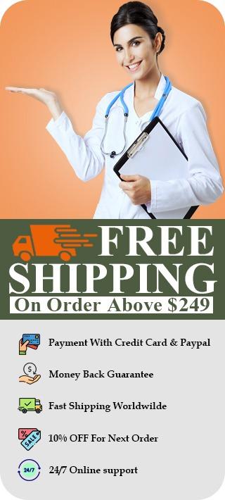 Medslike Free Shipping Order Above $249