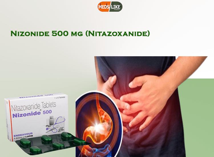 Nizonide 500 mg